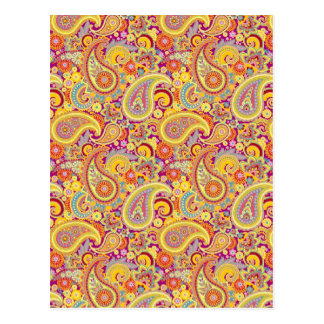 Playful Paisley Post Cards