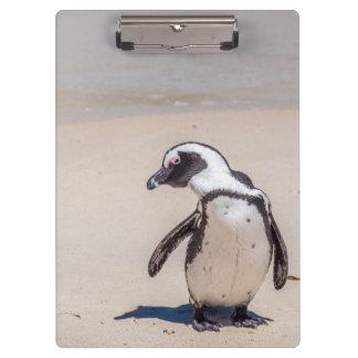 Playful Penguin Clipboard