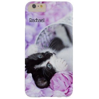 """Playful """"Pippa"""" Purple Floral Barely There iPhone 6 Plus Case"""