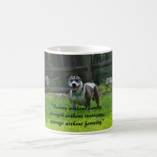 Playful Pitbull Coffee Mug