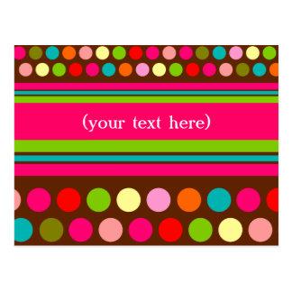 Playful Polka Dots Post Cards