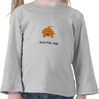 Playful Pup T-shirts