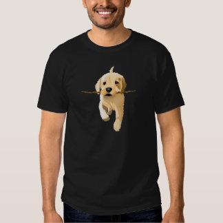 Playful puppy tee shirt