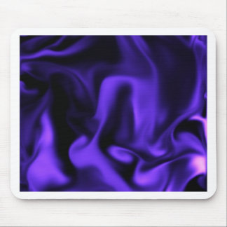 Playful Purple Silk by OELA (Satin line) Mouse Pad
