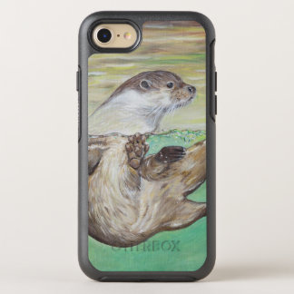Playful River Otter OtterBox Symmetry iPhone 8/7 Case