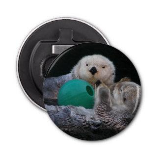 Playful Sea Otters Photo