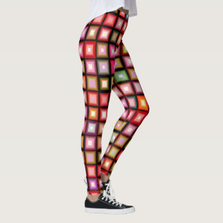 Playful  Squares Leggings