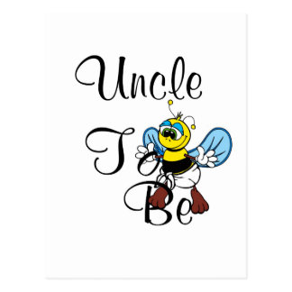 Playful Uncle To Be Post Cards