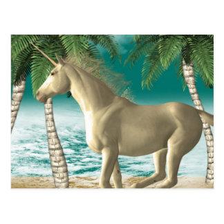 Playful Unicorn Postcard