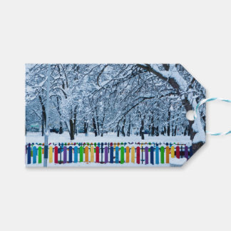Playful Winter Wonderland Gift Tags