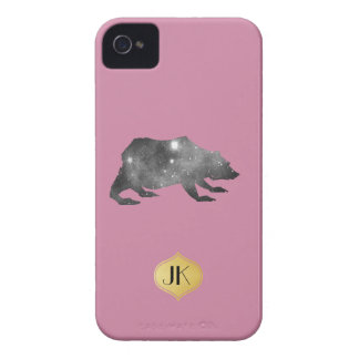 PLAYFULLY COOL UNIVERSE BEAR Case-Mate iPhone 4 CASES