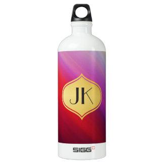 Playfully Cool Vibrant Rays Monogram No. [45] SIGG Traveller 1.0L Water Bottle