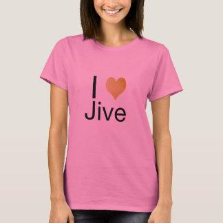 Playfully Elegant I Heart Jive T-Shirt