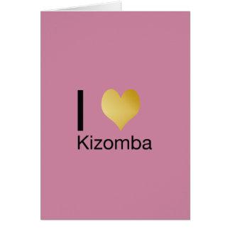 Playfully Elegant I Heart Kizomba Card