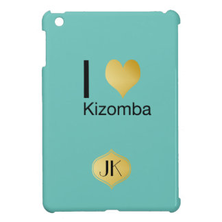 Playfully Elegant I Heart Kizomba Case For The iPad Mini