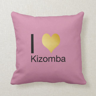 Playfully Elegant I Heart Kizomba Cushion