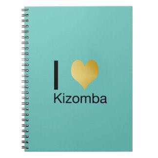 Playfully Elegant I Heart Kizomba Notebooks