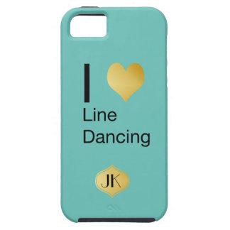 Playfully Elegant  I Heart Line Dancing iPhone 5 Cases