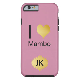 Playfully Elegant I Heart Mambo Tough iPhone 6 Case
