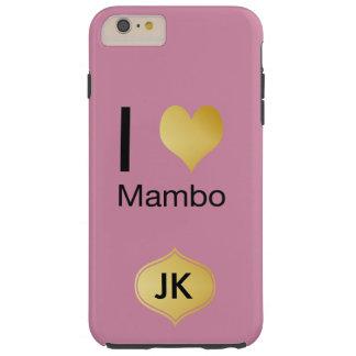 Playfully Elegant I Heart Mambo Tough iPhone 6 Plus Case