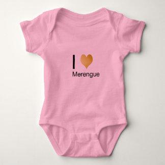 Playfully Elegant I Heart Merengue Baby Bodysuit