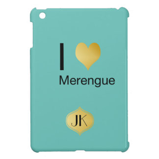Playfully Elegant I Heart Merengue Case For The iPad Mini