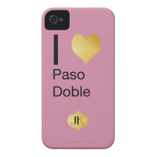 Playfully Elegant I Heart  Paso Doble Case-Mate iPhone 4 Case