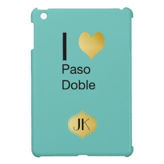 Playfully Elegant I Heart  Paso Doble iPad Mini Covers