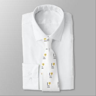 Playfully Elegant I Heart  Paso Doble Tie