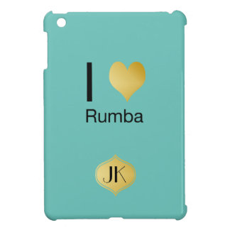 Playfully Elegant I Heart Rumba Case For The iPad Mini