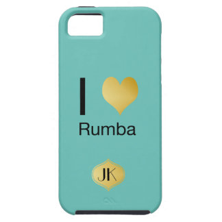 Playfully Elegant I Heart Rumba Case For The iPhone 5