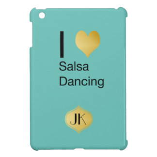 Playfully Elegant I Heart Salsa Dancing iPad Mini Covers