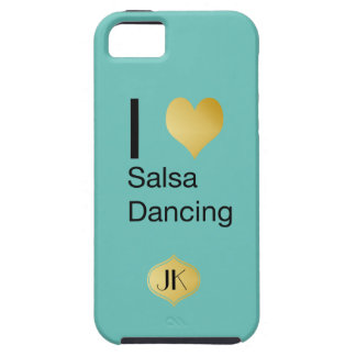 Playfully Elegant I Heart Salsa Dancing iPhone 5 Cover