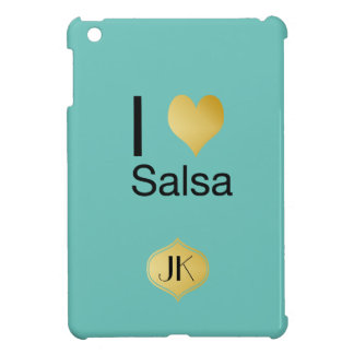 Playfully Elegant I Heart Salsa iPad Mini Cover