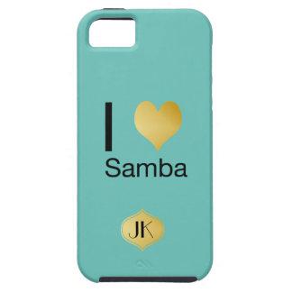 Playfully Elegant I Heart Samba iPhone 5 Case