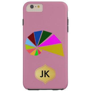 Playfully Geometric Snail Tough iPhone 6 Plus Case