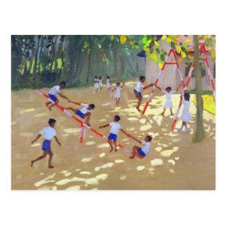 Playground Sri Lanka 1998 Postcard