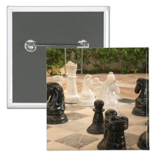 Playing a game of Chess Button