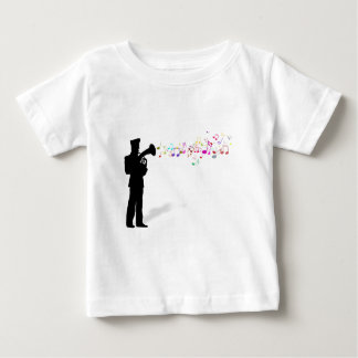 Playing Brass Instrument Baby T-Shirt