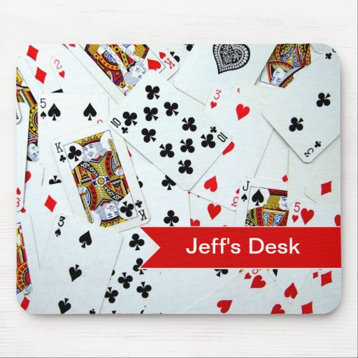 Playing Card games Mousepad