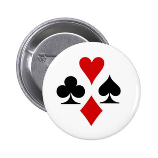 Playing card suit badge
