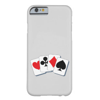 Playing Card Suits Barely There iPhone 6 Case