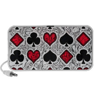 PLAYING CARD SUITS Doodle Speaker