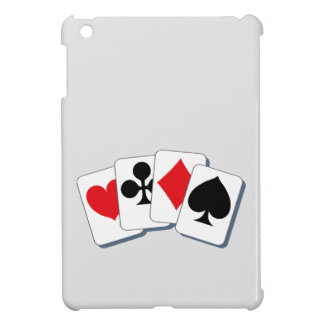 Playing Card Suits iPad Mini Cover
