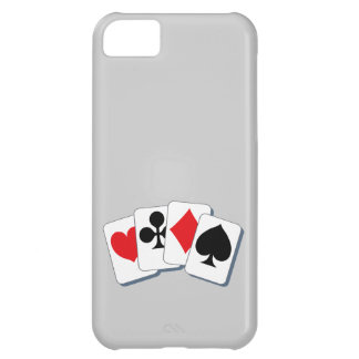 Playing Card Suits iPhone 5C Case