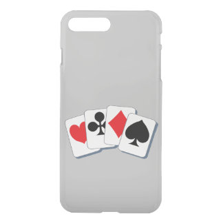 Playing Card Suits iPhone 8 Plus/7 Plus Case