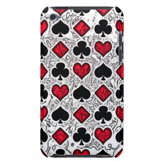 PLAYING CARD SUITS iPod Touch Case-Mate Case