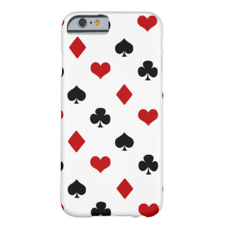Playing Card Suits | Poker Theme | Barely There iPhone 6 Case