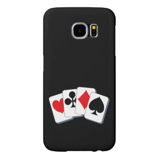 Playing Card Suits Samsung Galaxy S6 Cases