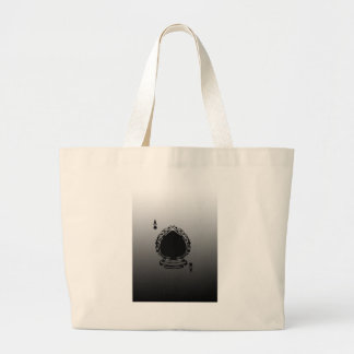 Playing Card With Gradient Tote Bag